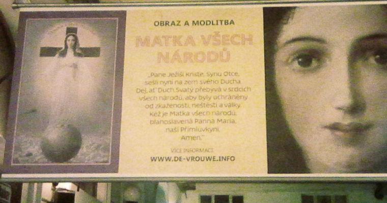 Maria – Matka všech národů se představuje ivČesku
