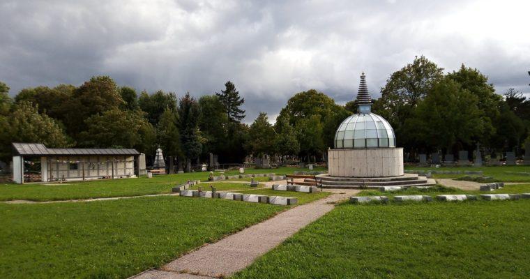 Muslimské abuddhistické hřbitovy