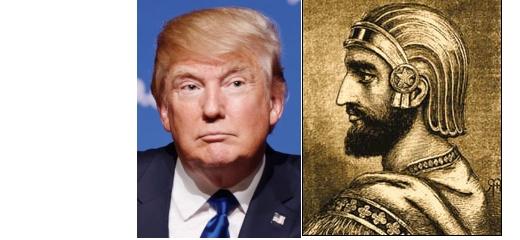D. Trump jako nový král Kýros? Evangelikální teolog stím polemizuje
