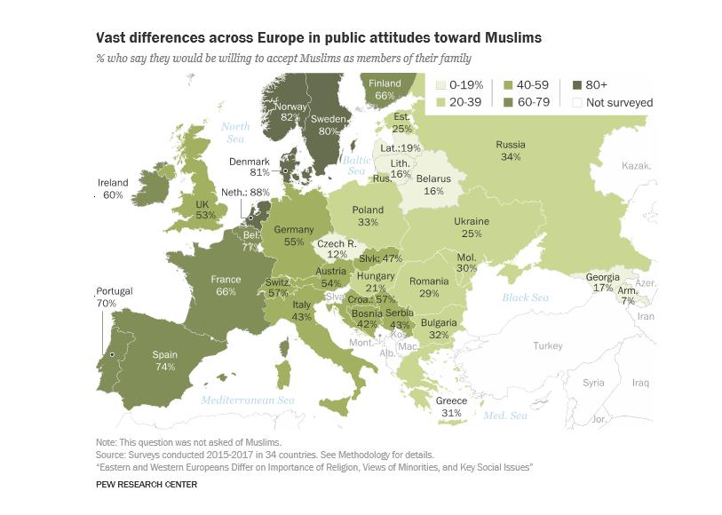 Průzkum: Češi mezi východní azápadní Evropou