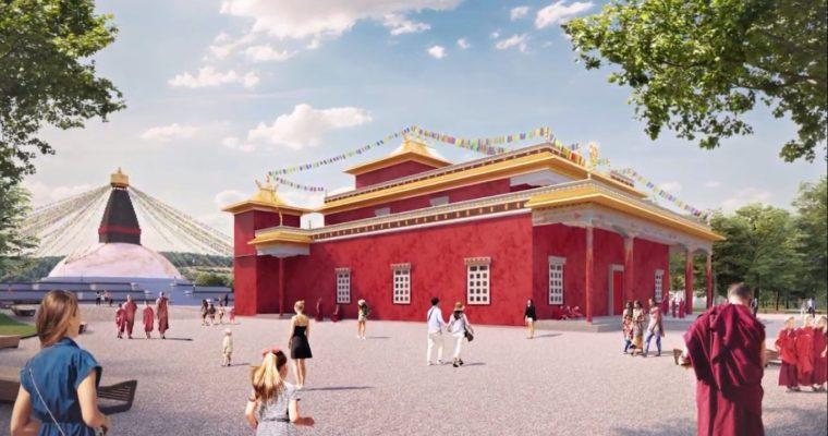 Ve středu Čech je plánována stavba velkého buddhistického centra