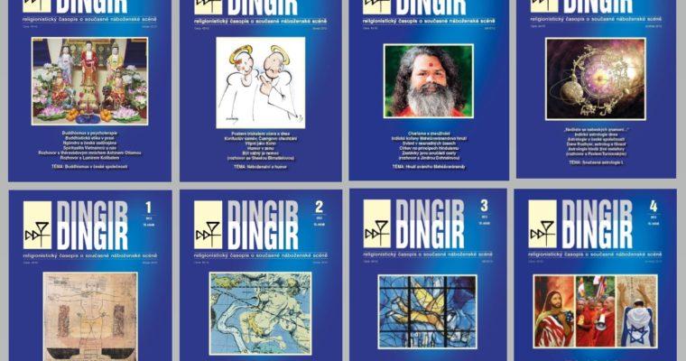 Další starší čísla časopisu Dingir zpřístupněna bezplatně
