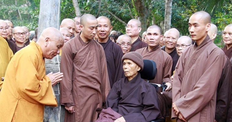 Thich Nhat Hanh je zpět ve svém rodném městě