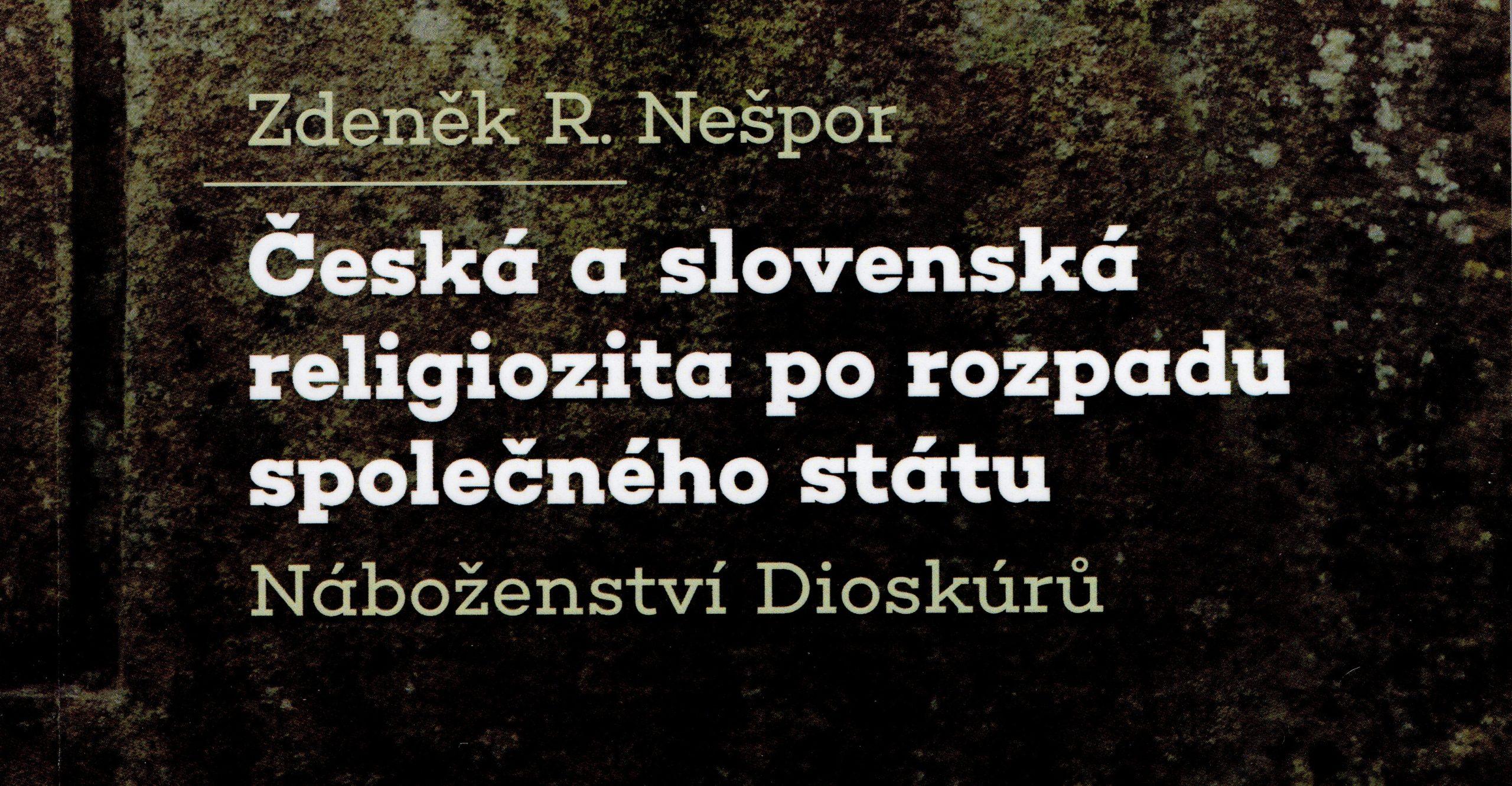 Anatomie rozdílu mezi českou aslovenskou religiozitou