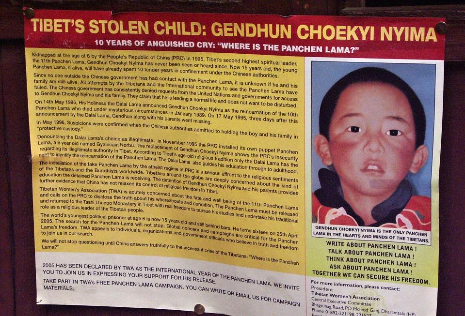 Před 25 lety zmizel pančhenlama
