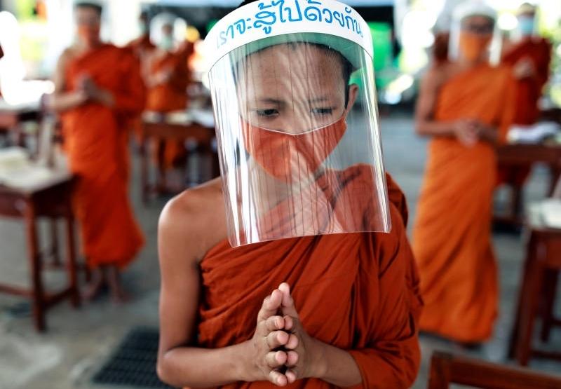 Jak buddhisté zvládají koronavirus
