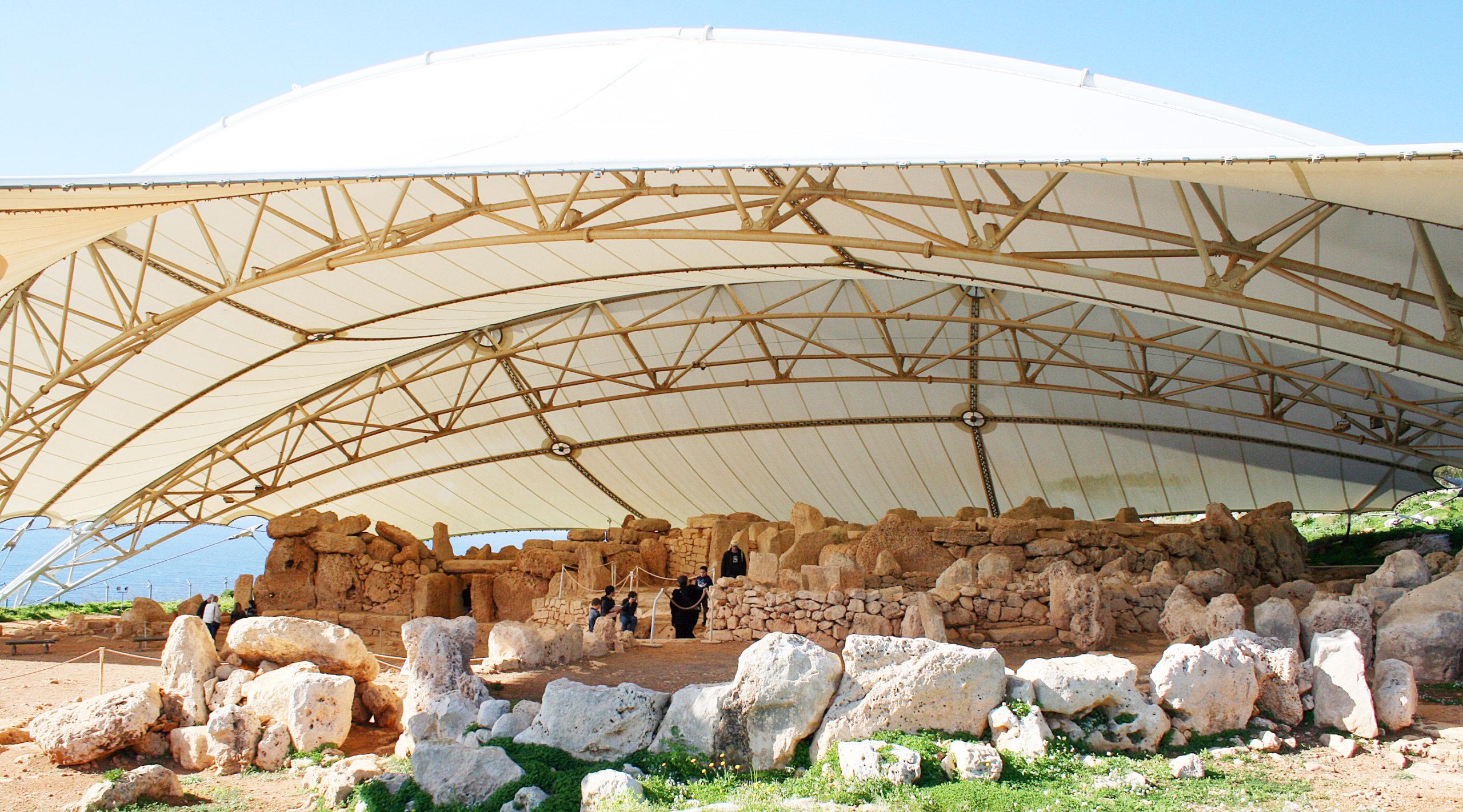Hagar Qim – nejstarší dochovaný náboženský chrám světa