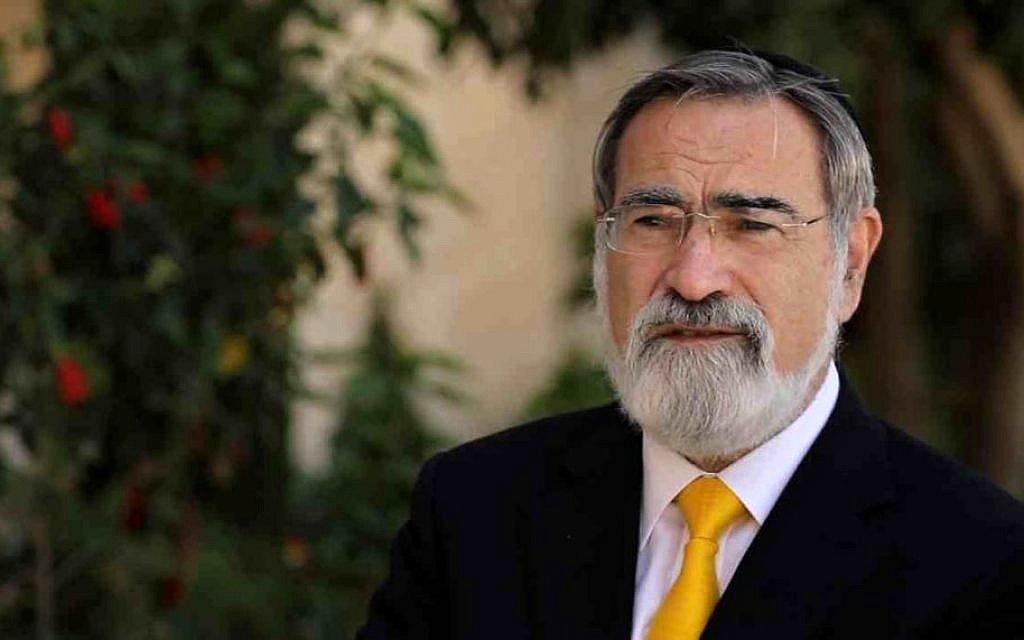 Rabín Jonathan Sacks zemřel