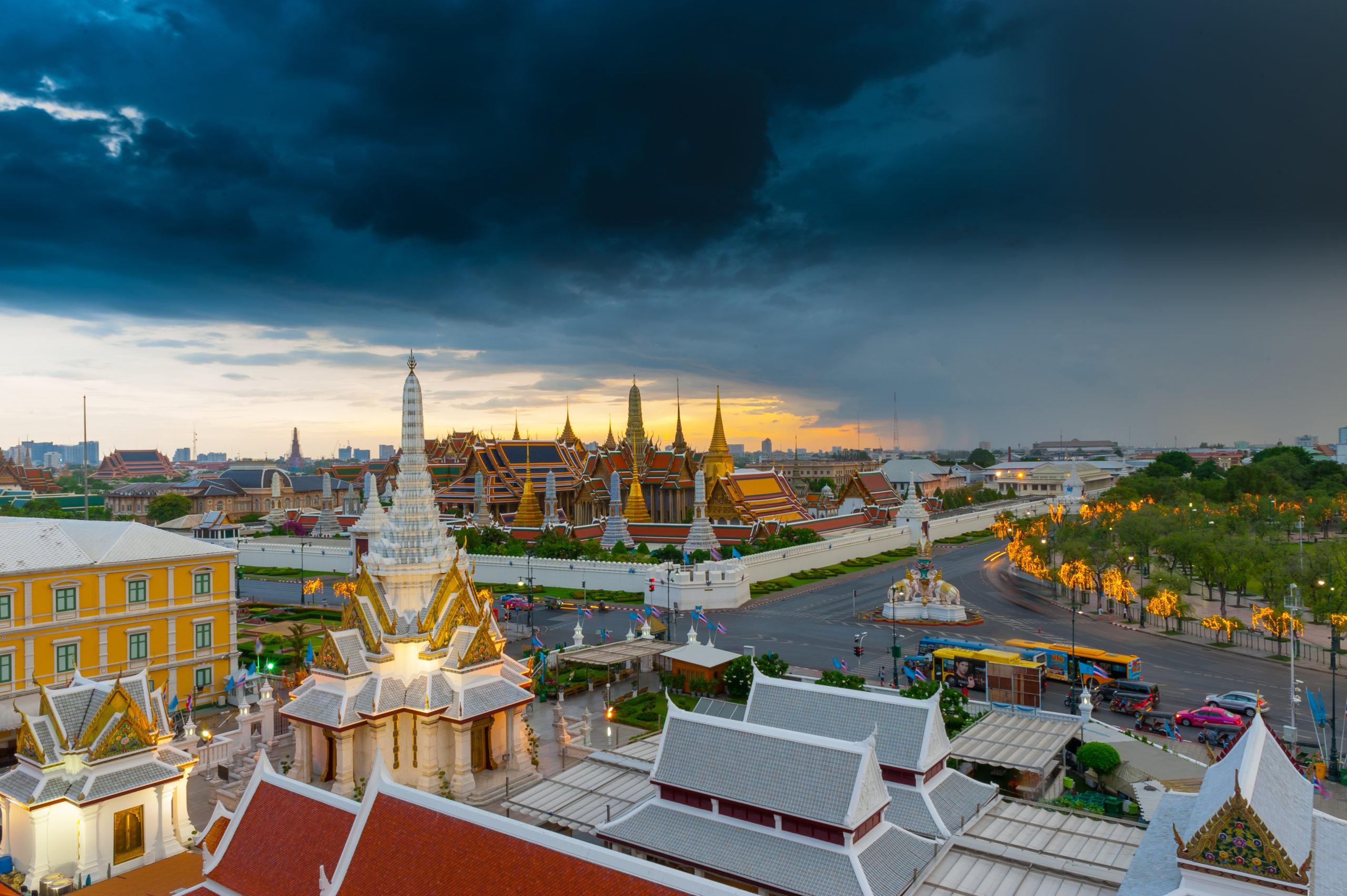 Thajské chrámy zptačí perspektivy