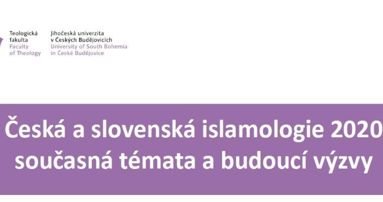 Čtvrtý ročník Konference oislamologii vČeských Budějovicích