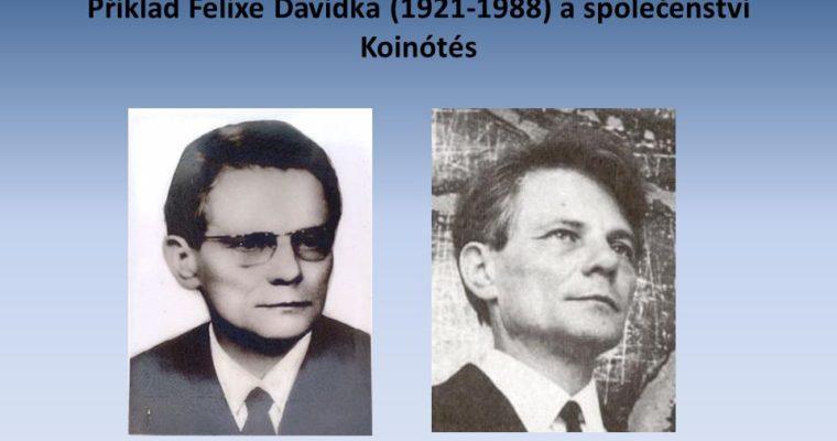 Sto let od narození Felixe M. Davídka