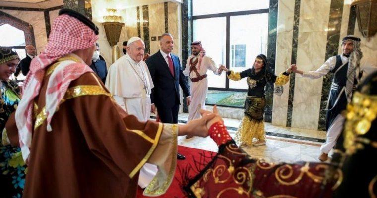 Papež anáboženský portrét Iráku