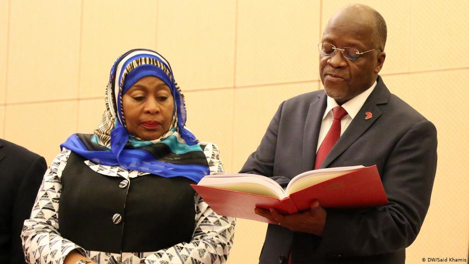 Do čela Tanzanie se posmrti křesťana Magufuliho postavila muslimka Hasanová