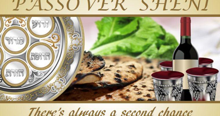 Pesach šení: druhá šance pro hříšníky