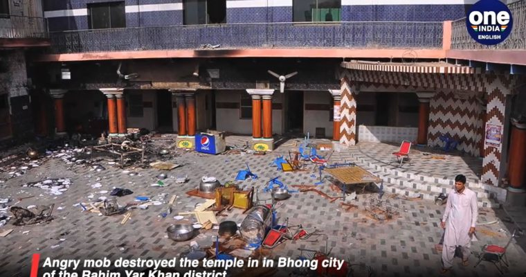 Pákistánské úřady rychle stíhají pachatele útoku na hinduistický chrám